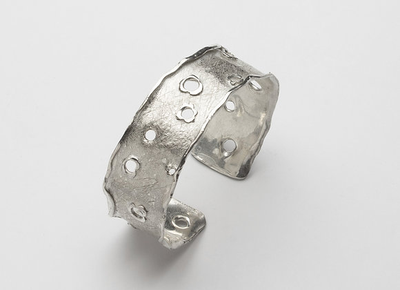 The Holes have it!  Cuff Bracelet