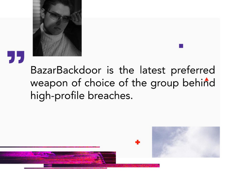 """""""Front Door"""" into BazarBackdoor: Stealthy Cybercrime Weapon"""