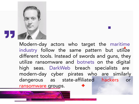 Cyber Privateers: Ransomware, APTs, & Botnets in the Maritime Industry Threat Landscape
