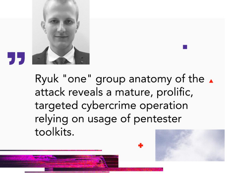 "Anatomy of Attack: Inside BazarBackdoor to Ryuk Ransomware ""one"" Group via Cobalt Strike"