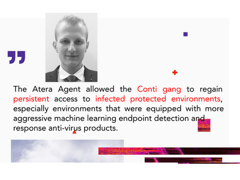 """Secret """"Backdoor"""" Behind Conti Ransomware Operation: Introducing Atera Agent"""