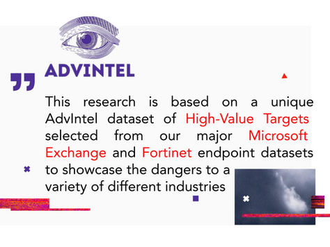 Ransomware-&-CVE: Industry Insights Into Exclusive High-Value Target Adversarial Datasets
