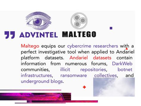 Maltego+Andariel a Force Multiplier For DarkWeb & Botnet Investigations