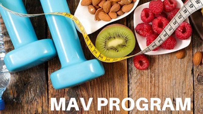 MAV PROGRAM Nutrizione