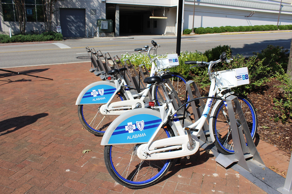 Tandem mobility Huntsville alabama bikeshare powered by movatic