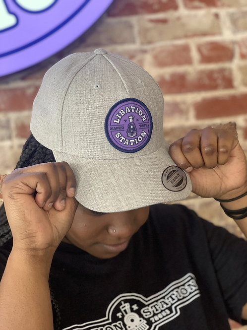 Rounded Bill Hat