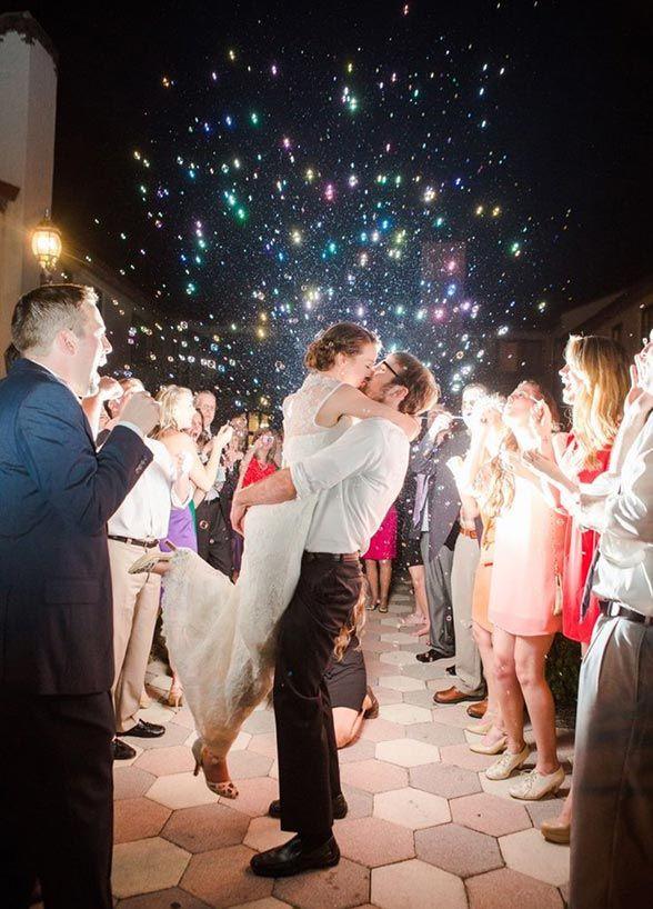 firework show wedding photography wedding planning send off