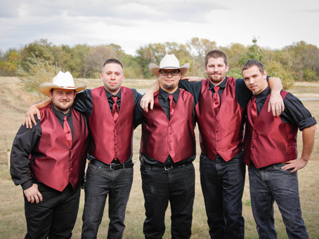 Rustic Red Country Wedding
