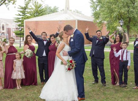 Event Logs | Emilie & Ryan's Firestone Baars Chapel Wedding