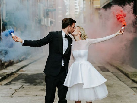 Instead of Throwing Rice | Wedding Send-Off Inspiration