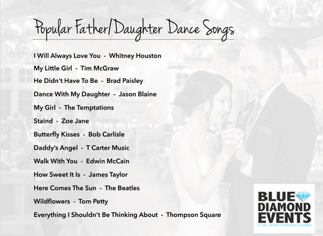 Playlists | Popular Father/Daughter Dance Songs