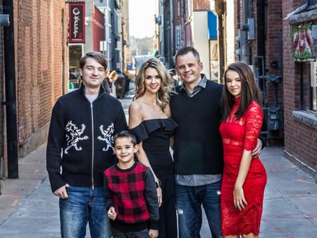 Downtown Urban | Family Portraits