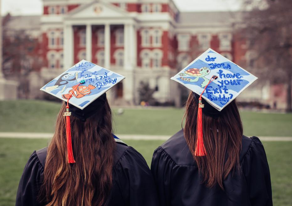 graduation caps senior grad pictures photographer in columbia mo missouri mizzou engineering ideas