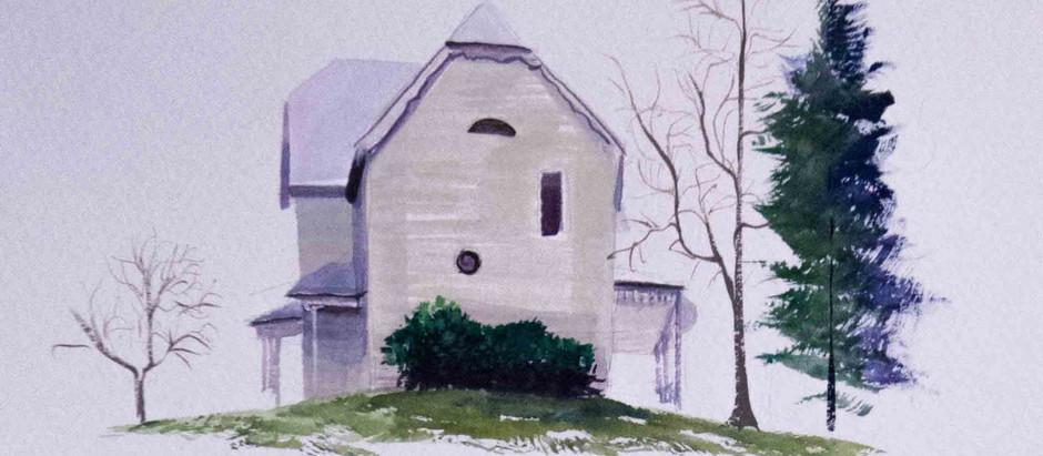 Monroe County Farmhouse (Version 1), 2014