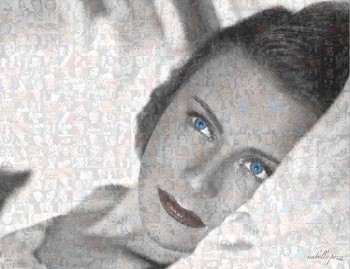 Michèle Morgan - Blue eyes