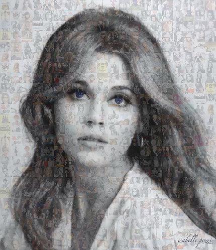 Jane Fonda - Blue eyes