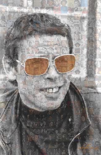 Jacques Brel - Orange glasses