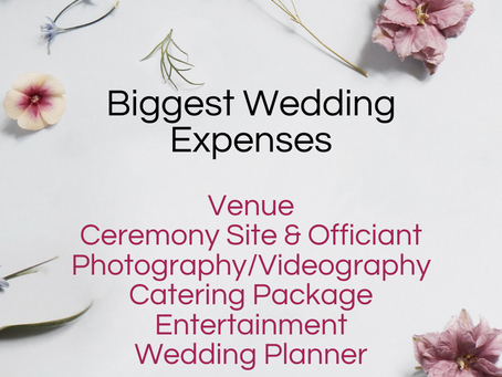 Creating a wedding plan to get the most out of your budget