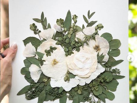I'm preserving my bouquet, what are my design options?