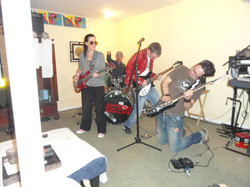 the whole band