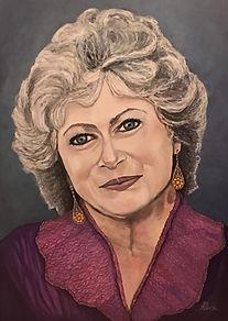 Portrait of Andrea Perron - by April Cotton Dyck