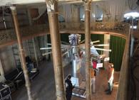Kunstinstallation Klimt - Der Reigen