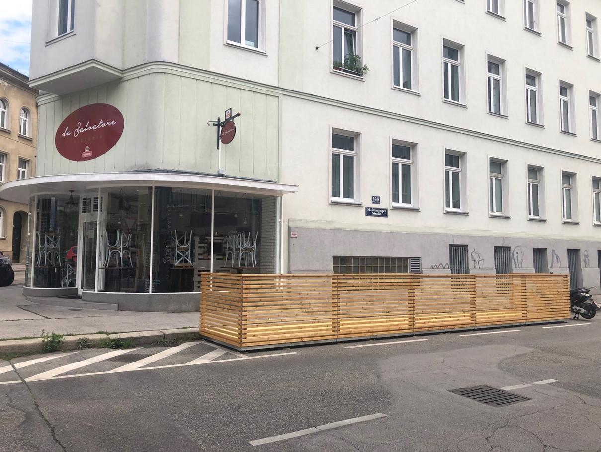 Gastgarten Pizzeria 2020