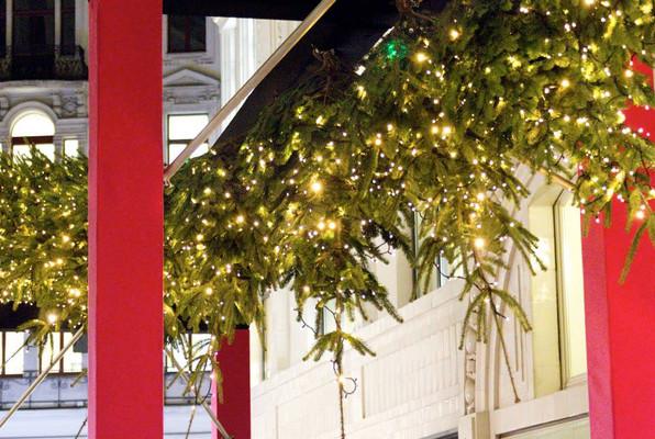 Weihnachtsdeko Tuchlauben