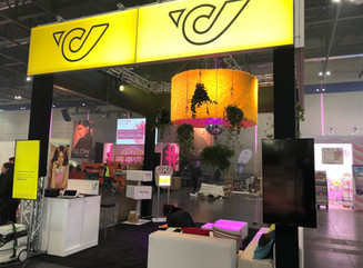 Messestand Glow 2018