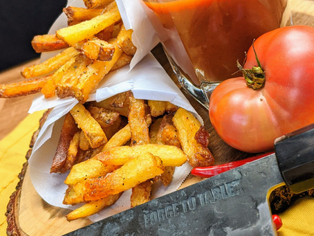 Level-Up Ketchup with Handcut Frites