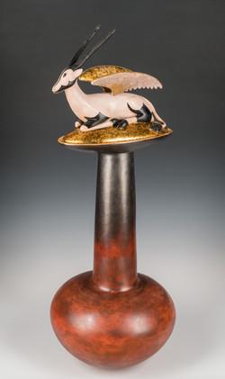 Winged Oryx Perfume Bottle