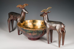 Double Antelope Vessel