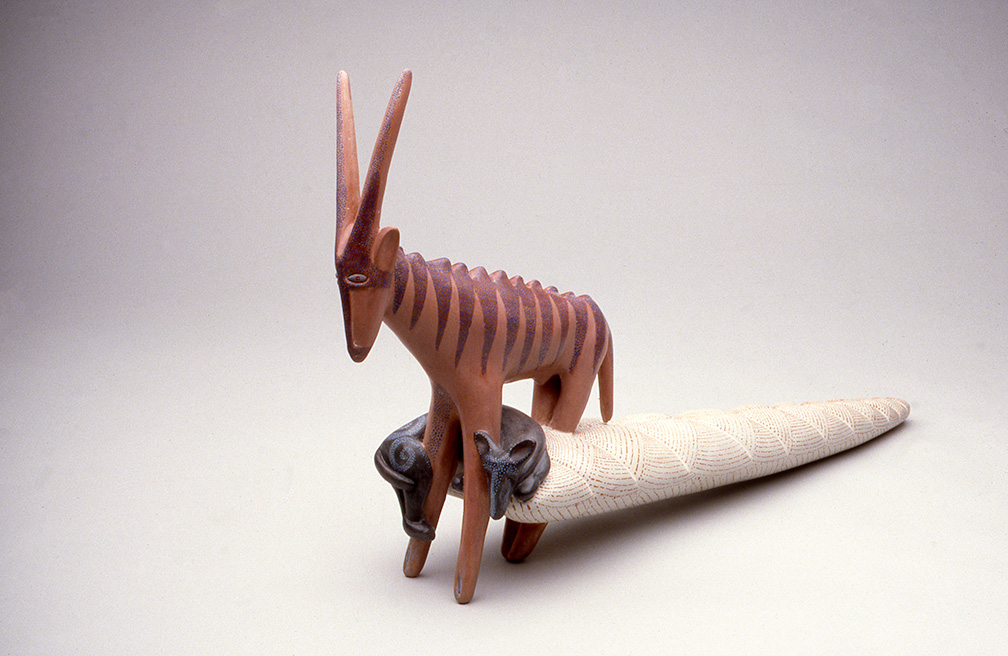 Oryx with Sleeping Dog Vessel