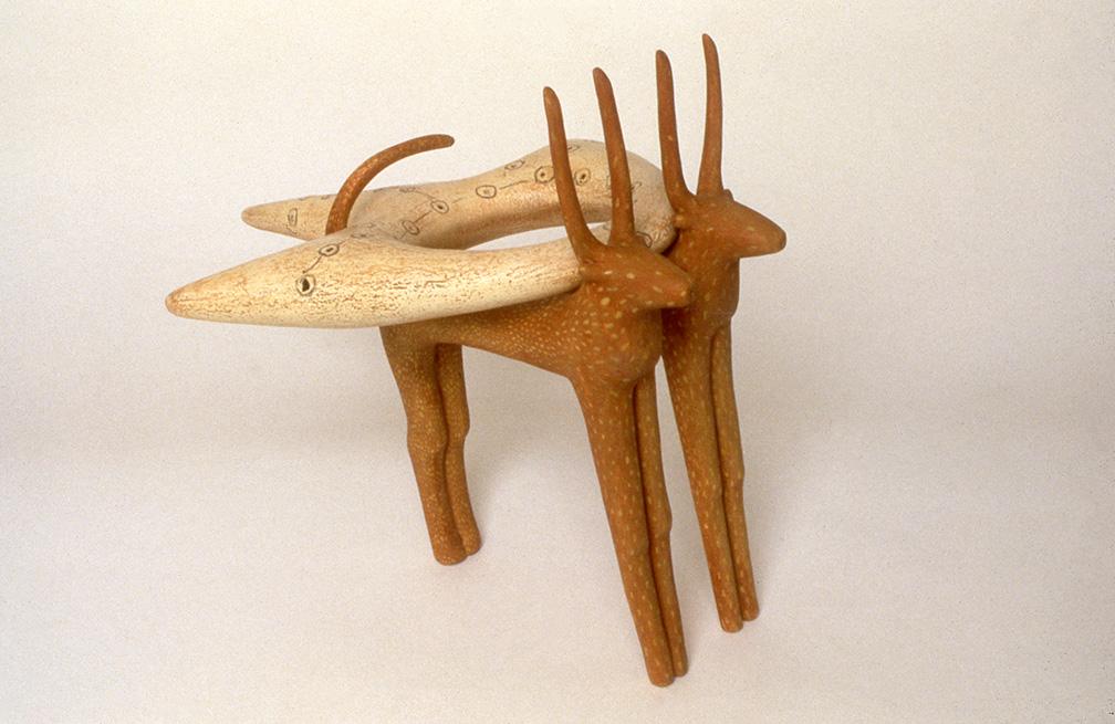 Ginger's Antelope Carrying Water