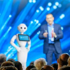 Humanoid event robot