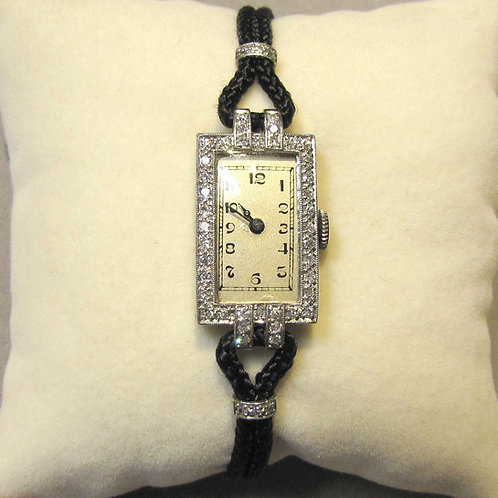 Eloga Art Deco Diamond Watch