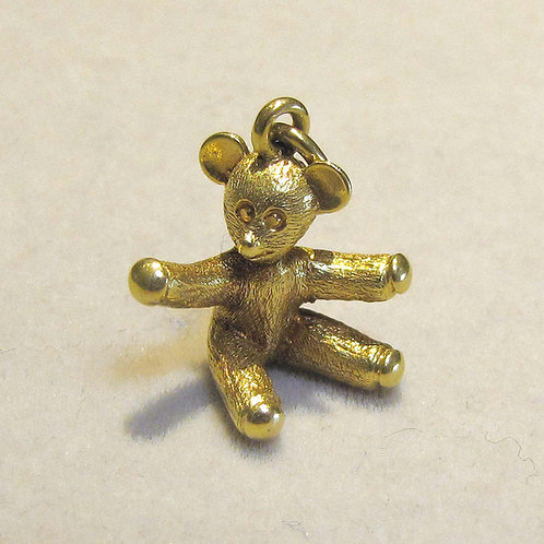 Tiffany & Co. 18K Teddy Bear Charm