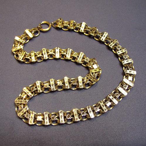 Victorian 14K Fancy Link Necklace