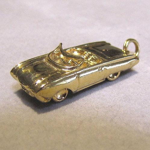 14K Thunderbird Car Charm