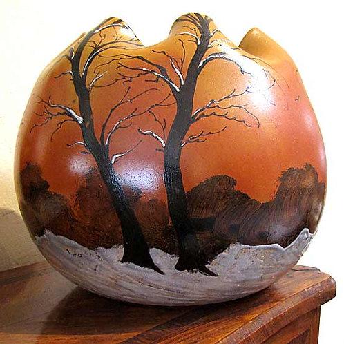 LeGras Art Glass Vase