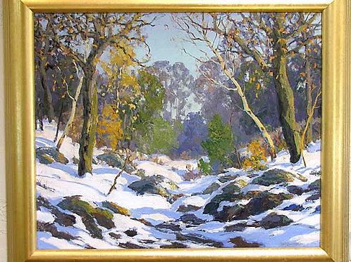 Winter Landscape by Walter Koeniger