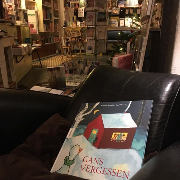 Lesung bei der BUCHKÖNIGIN, Berlin