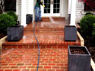 Spring time is here...clean, clean, clean... We are a professional window and power washing company