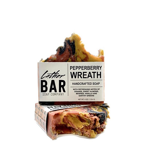 Pepperberry Wreath Lather Bar