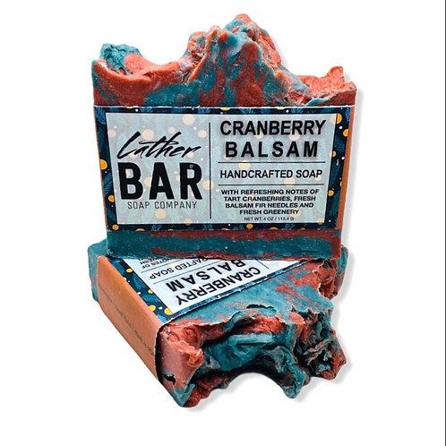 Cranberry Balsam Lather Bar