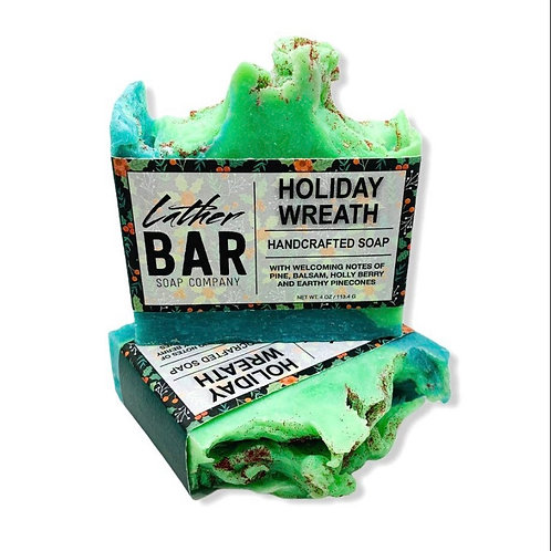 Holiday Wreath Lather Soap