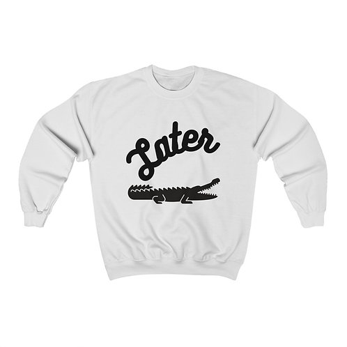 LATER GATOR Unisex Heavy Blend™ Crewneck Sweatshirt