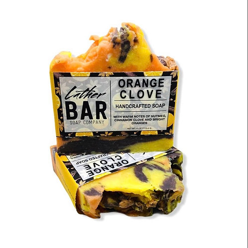 Orange Clove Lather Bar
