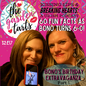 60 Fun Facts as Bono Turns the Big 6-0!