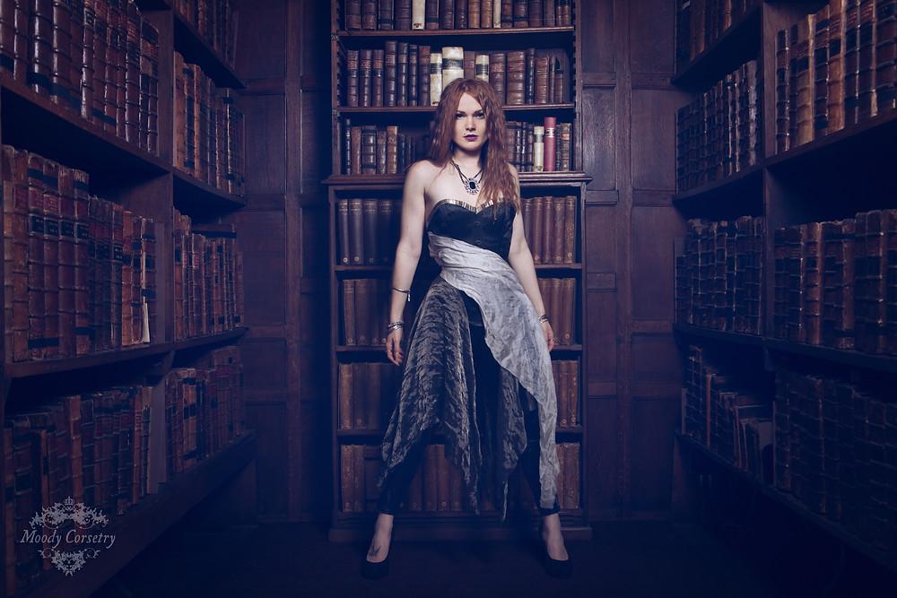Iceni Corset – Model: Gingerface, Photography: InaGlo Photography